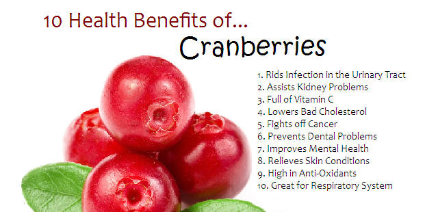 Cranebeery health benefits