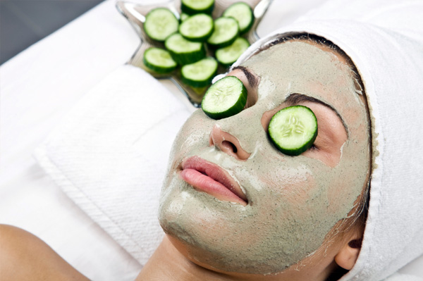 Cucumber for glowing skin