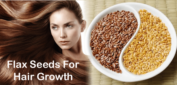 Flax seeds to control hair loss