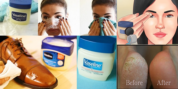 Utilize Vaseline for beautiful skin
