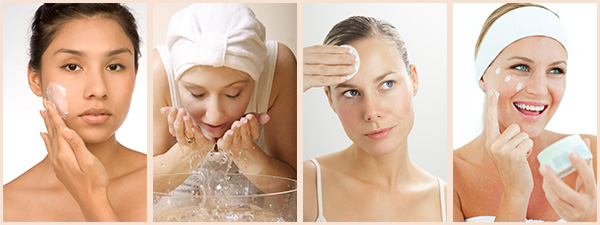 cleansing,tonning,moisturize for glowing skin