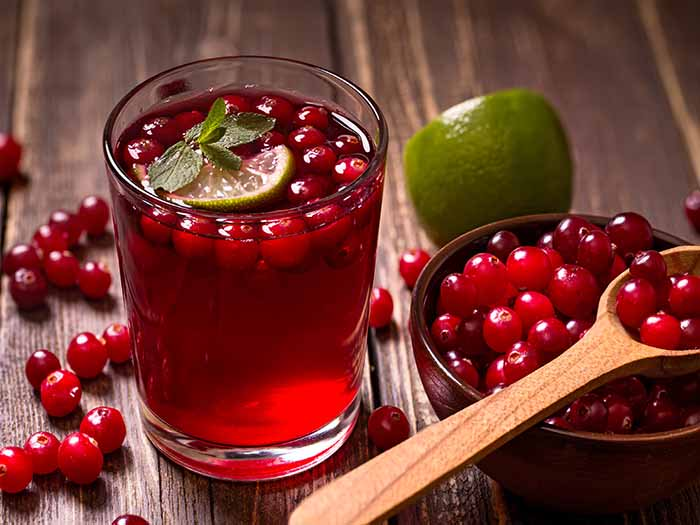 craneberry juice benefits for health skin hair