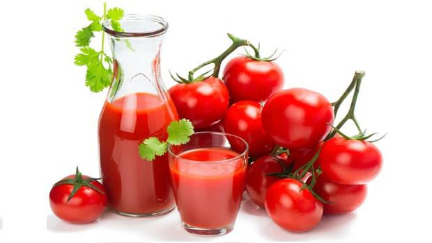 Tomato tips for Glowng Skin
