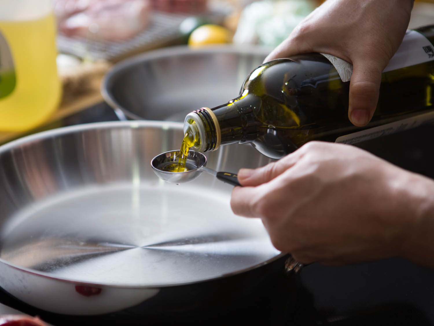Frying with olive oil and heart disease
