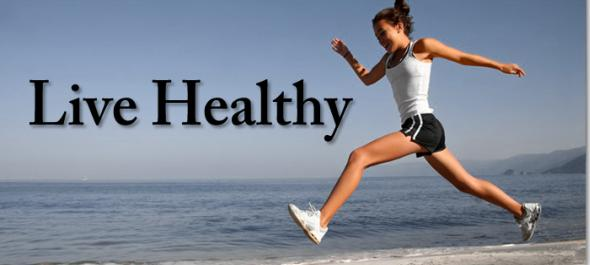 how live healthy lifestyle