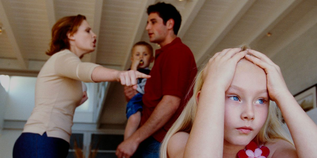 why do parents fights
